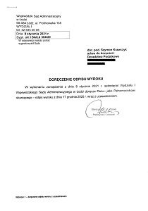 Doradca podatkowy Łódź orzeczenie3
